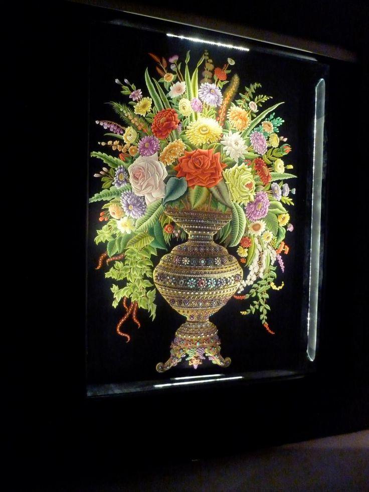 Шейх Шамсуддин - вышивальщик - Все интересное в искусстве и не только.