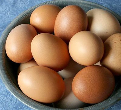 Buff Orpington eggs