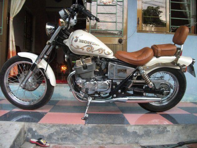 honda rebel 250cc bobber