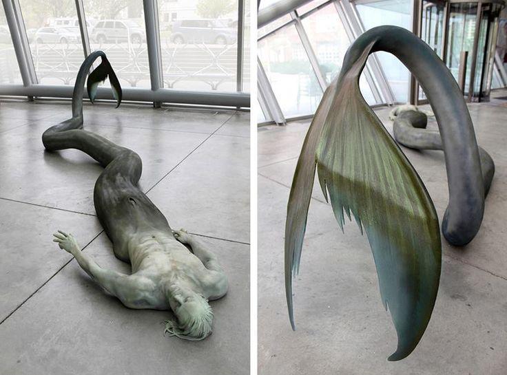 Emerging artist Cameron Stalheim creates striking sculptures that indulge dark fantasies.