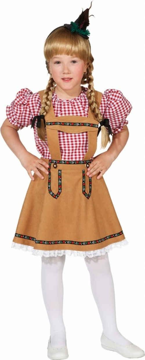 Costume bavarese bambina