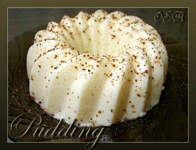 Ванильный пудинг : Десерты