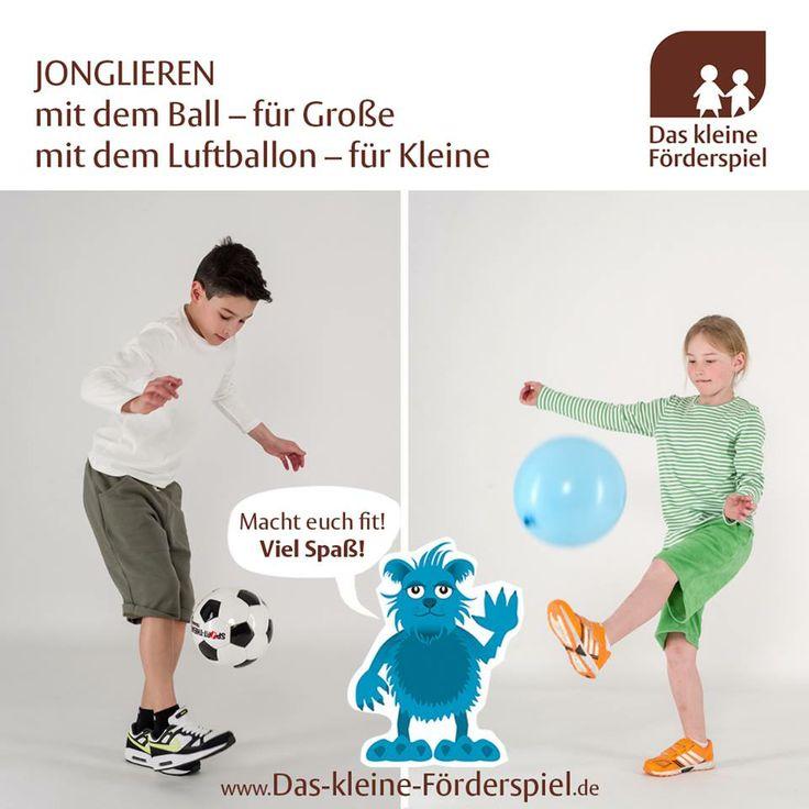 Eine Übung für unsere kleinen Nachwuchs Fußballer. Je nach Alter variierbar mit Materialien. Viel Spaß!