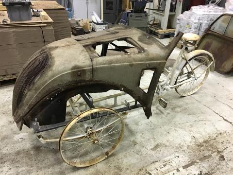 Design-Fahrrad 2CV Paris: Hybrid aus Italien: Halb Ente, halb Fahrrad - SPIEGEL ONLINE - Nachrichten - Auto