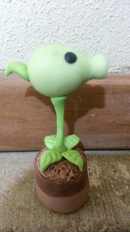 Lanza Guisantes de Planta vs Zombie en Porcelana fria