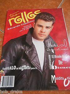 1992 TUS ROLLOS magazine EDUARDO CAPETILLO timbiriche MALDITA VECINDAD MENUDO | eBay