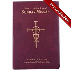 I need a new one!  St. Joseph Sunday Missal | The Catholic Company #catholiccompany