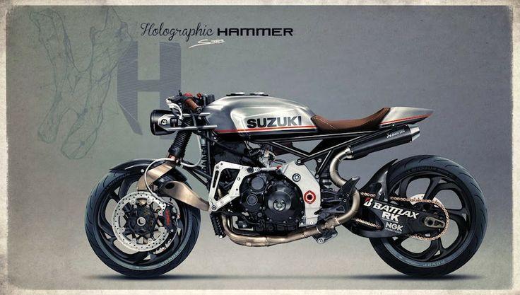 suzuki gsx-r 1000   cafe racer   motorcycles   pinterest   suzuki
