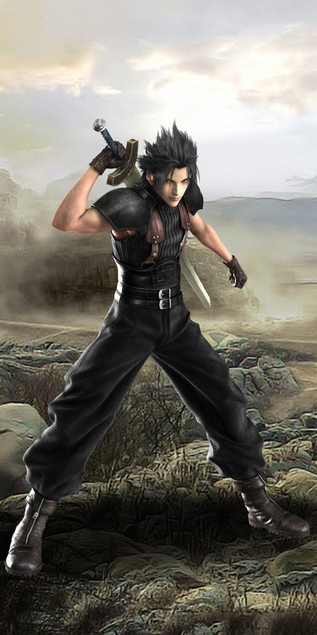 Final Fantasy VII Zack Fair Outskirts of Midgard