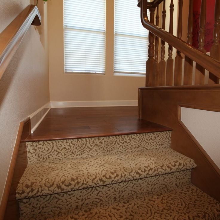 Basement Stair Landing Decorating: Flooring Ideas For Stairs And Landing