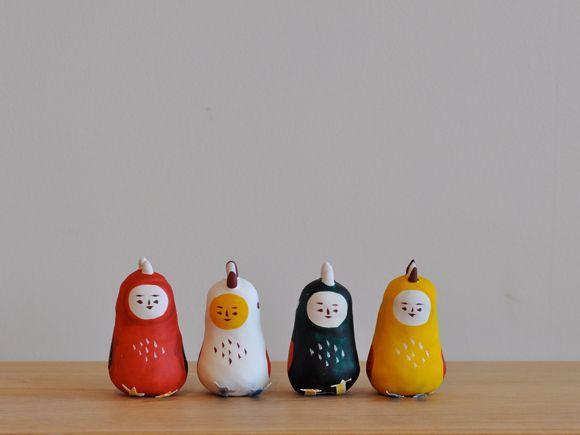 琉球張り子『鳥彦』- 豊永 盛人 (玩具ロードワークス)