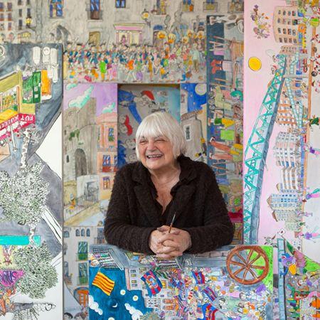 Pilarin Bayes  75è aniversari del seu naixement Il.lustradora i cartellista catalana
