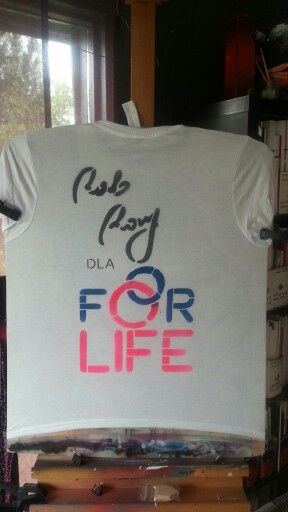 T-shirt. Fundacja For Life
