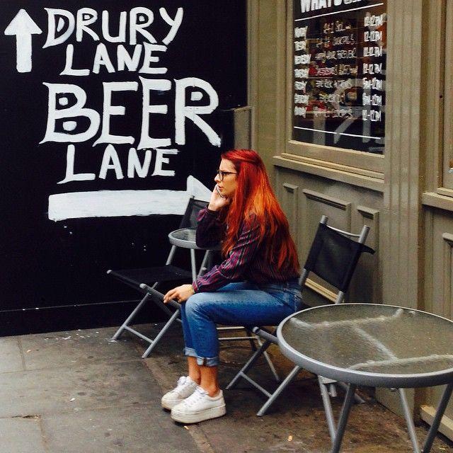 #beer lane, #London! I like the sound of that! Get the #Kooky #London #App http://bit.ly/11XgicP #ig_London #igLondon #London_only #UK #England #English #GreatBritain #British #iPhone #quirky #odd #weird #photoftheday #photography #picoftheday #igerslondon #londonpop #lovelondon #timeoutlondon #instalondon #londonslovinit #mylondon #Girl #portrait #CoventGarden #Padgram