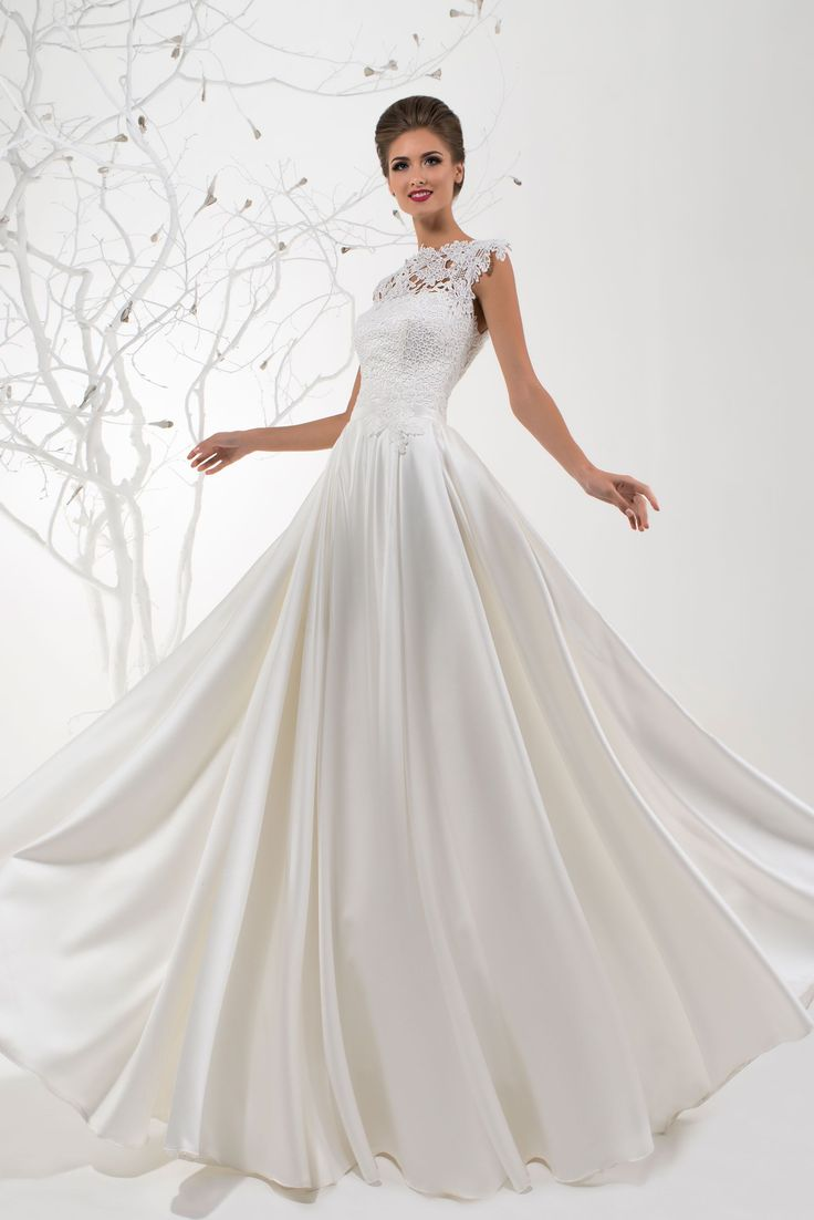 Stylish wedding dress Diva, Collection Dream - HADASSA #wedding #dress #weddingdresses #bridetobe #bridalfashion #style #trend #couture #designer #hadassa
