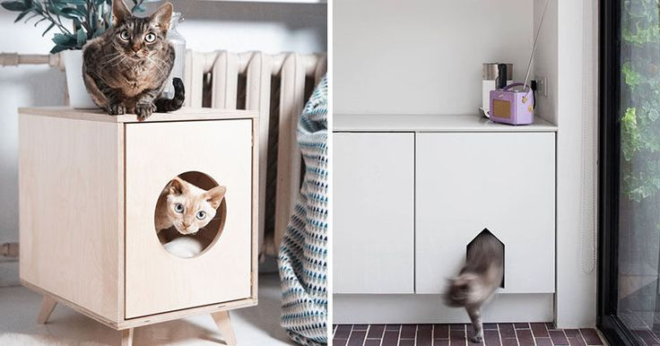 10 Ideas For Hiding Your Cat Litter Box