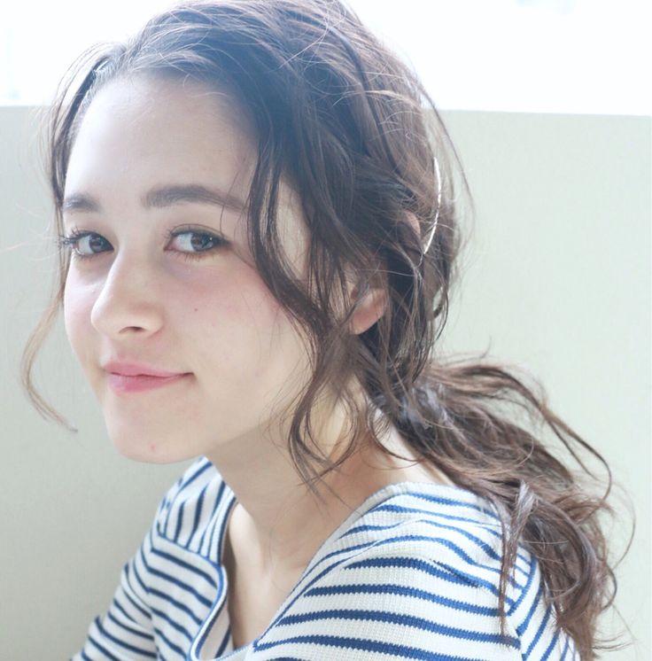 高橋 忍さんのヘアカタログ   大人かわいい,ゆるふわ,外国人風,ヘアアレンジ,簡単アレンジ   2016.04.22 21.45 - HAIR