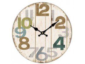 Nástěnné hodiny s velkými čísly
