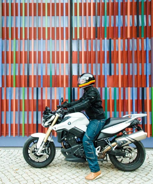 On tour with Sixt Deutschland and the BMW F 800 R.
