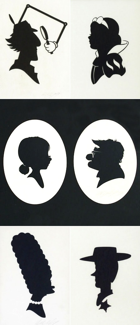 interesting silhouettes-- <3 Carl & Ellie