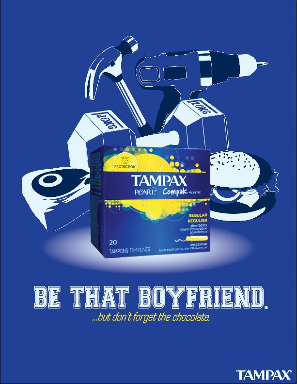 Tampax Ad Campaign on Behance