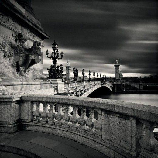 Черно белые фото парижа | Фото в монохроме