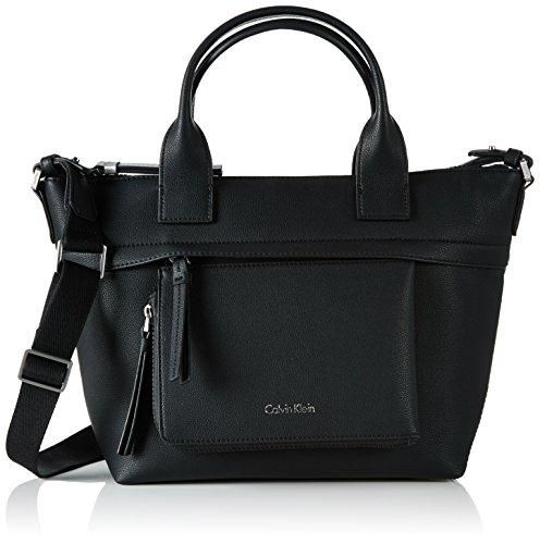 Oferta: 159.85€. Comprar Ofertas de Calvin Klein CH4RLY Medium Tote, Bolsa para Mujer, Negro (Black), 14 x 24 x 25 cm (b x h x t) barato. ¡Mira las ofertas!
