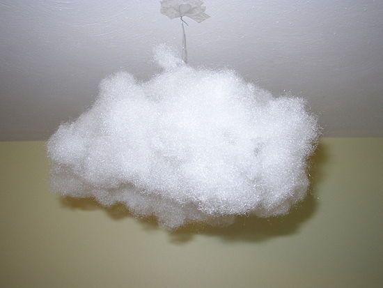 How to Make a Hanging Cloud: 8 Steps - wikiHow