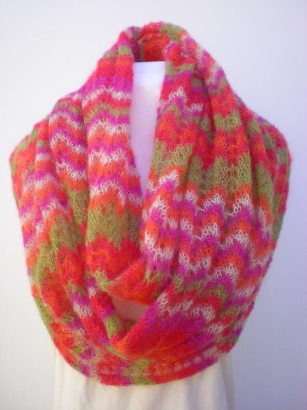 Tropical Waves in baby mohair by MK