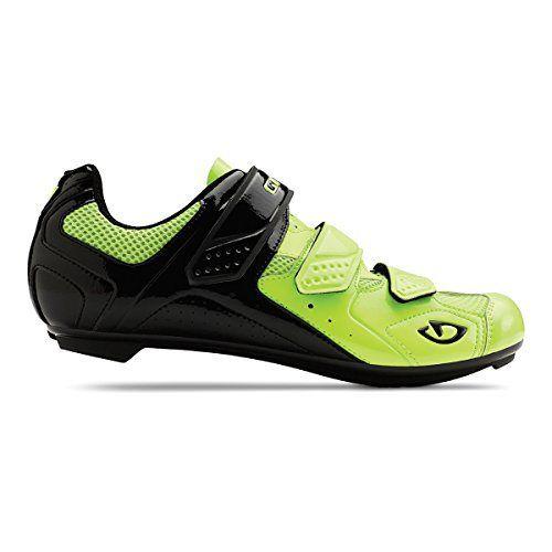 Giro 2015 Men's Treble II Road Bike Shoes (Highlight Yellow/Matte Black - 44)  #2015 #Bike #Black #Giro #Highlight #Men's #Road #Shoes #Treble #Yellow/Matte CyclingDuds.com