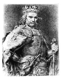 Portret Władysława Łokietka