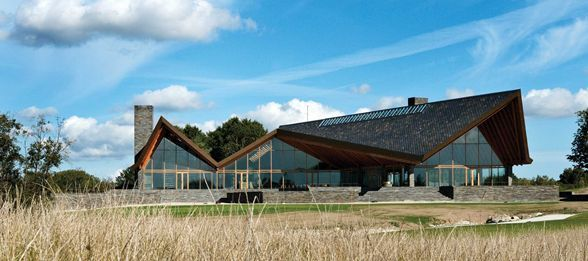 Scandinavian Golf Club :: Henning Larsen Architects