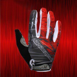 Amazon.com: Brandbuy Motocross Cycling BMX Bike Mountain Bicycle Riding Full Finger Motorcycle Gloves Red-Gray: Sports & Outdoors