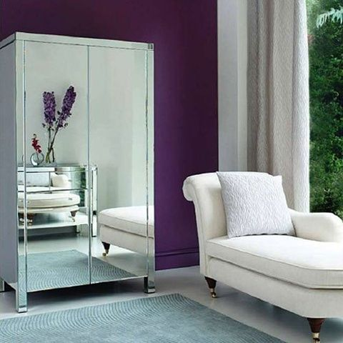 Ideas To Use Mirrored Furniture In The Bedroom Mirrored Furniture Pinterest Running