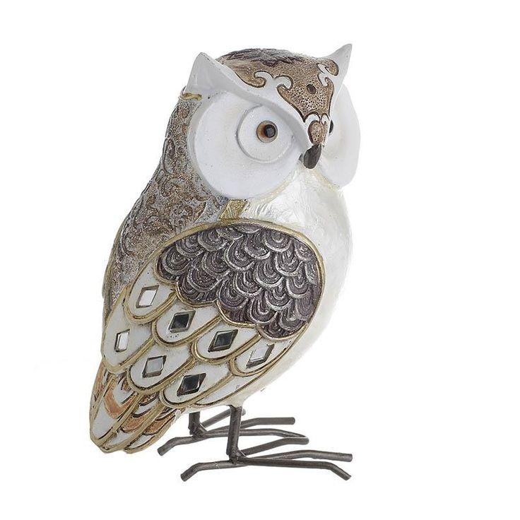 Decorative Owl - Animals - DECORATIONS - inart