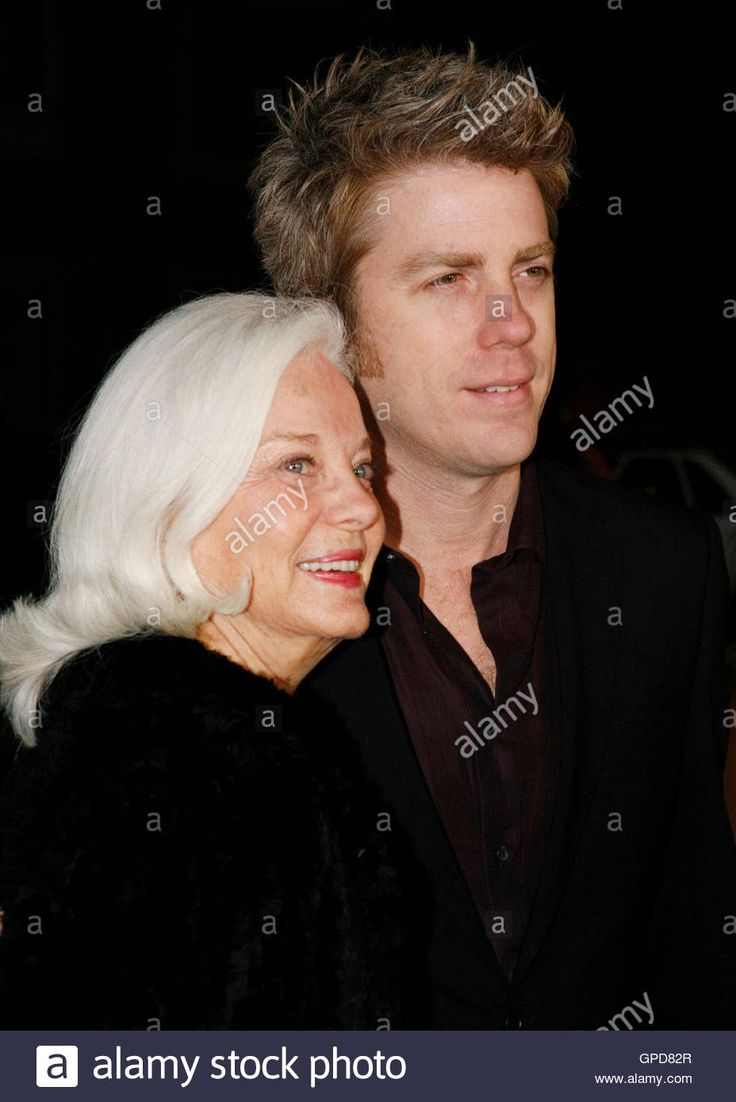 "Musician Kyle Eastwood poses with his mother Maggie Johnson at the Los Angeles premiere of his father, director Clint Eastwood's film ""Invictus"" in Beverly ..."