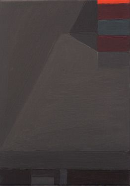 "Stuart McHarrie; Oil, 2011, Painting ""paint boxes on table"""