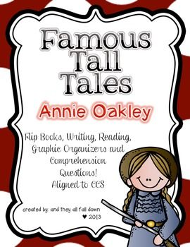 88 best tall tales images on pinterest tall tales teaching tall tales annie oakley pronofoot35fo Gallery
