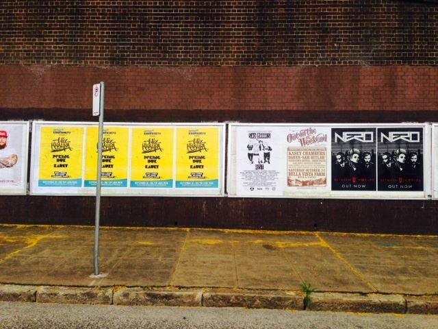 Posters printed and distributed by Rock Posters Sydney