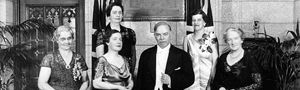 """http://thumbnails.cbc.ca/maven_legacy/thumbnails/tdpersons19380611__125375.mp3 link to radio brodcast.  On October 18, 1929, women were finally declared """"persons"""" under Canadian law. This historic legal victory is due to the persistence of five Alberta women; Emily Murphy, Nellie Mclung, Irene Parlby, Louise McKinney, and Henrietta Muir Edwards. In behalf of the determination these five women carried with them they have made it possible for women to succeed great leaps and bounds."""