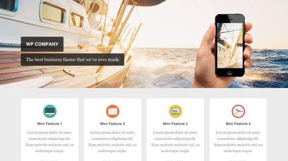 Company - Flexible Responsive WordPress Theme for Business Portfolio