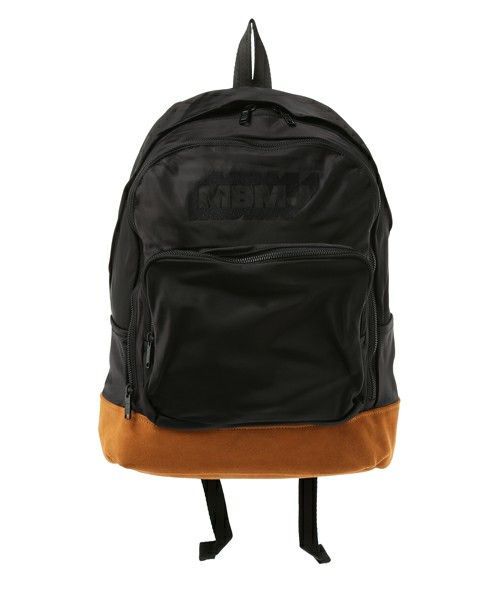 MARC BY MARC JACOBS(マークバイマークジェイコブス)のULTIMATE BACKPACK EMBROIDERED (バックパック/リュック)|ブラック