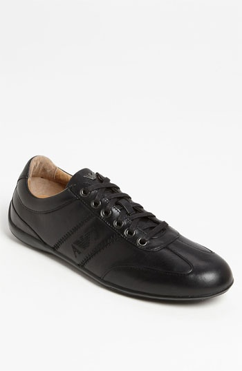 Armani Jeans Leather Sneaker available at #Nordstrom