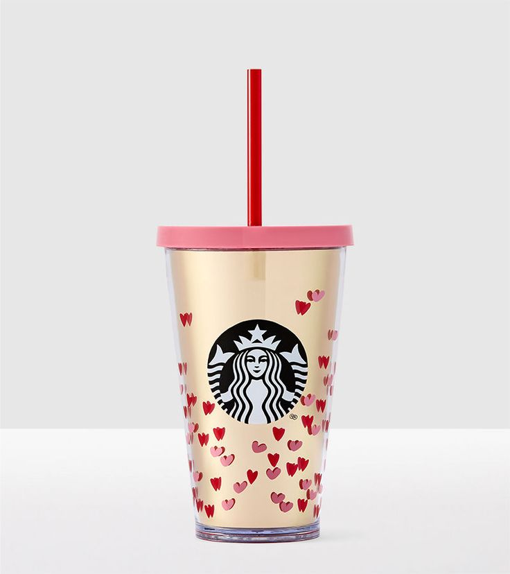 Valentine's Day Drinkware | Starbucks® Store - Tiny Hearts Cold Cup