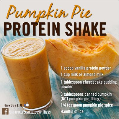 Take advantage of the Fall... Use the foods Nature has provided for us! This healthy & Muscle building Shake (for Men & Women) is delicious! Give it a try! www.flaviliciousfitness.com
