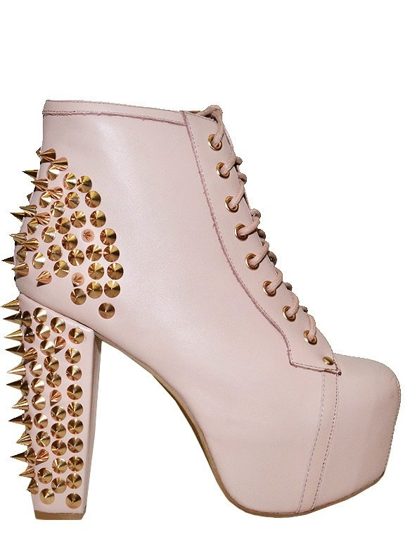 Lita Spike Jeffrey Campbell Heels Shoe Boots Spike
