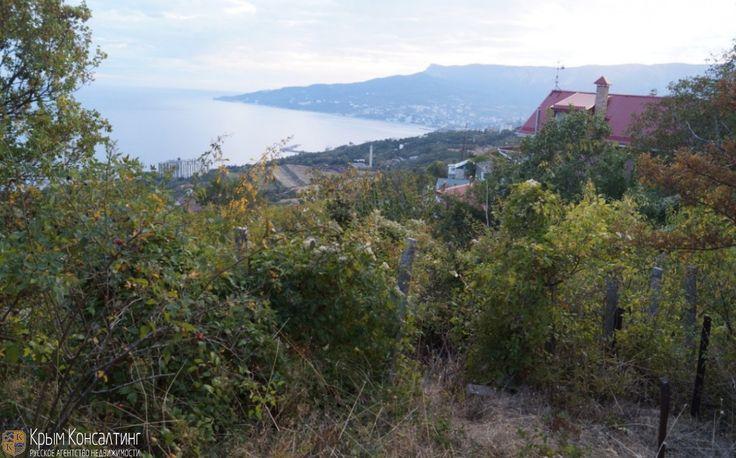 СРОЧНО! Продается участок 8,5 соток в Крыму в п.г.т Никита. Шикарный вид на Ялту, море, горы. Участок имеет небольшой уклон и требует расчистки от дикой растительности. На участке много фруктовых деревьев, вишня,черешня, виноград, инжир, есть так же миндаль и фундук.  Вода, газ, свет в 10 метрах от участка. Удобный подъезд, Все коммуникации по границе. Рядом магазин, школа, садик. Место с шикарным видом на море и Медведь-гору (старое название Аю-Даг).  Комфортная удаленность от пляжа…