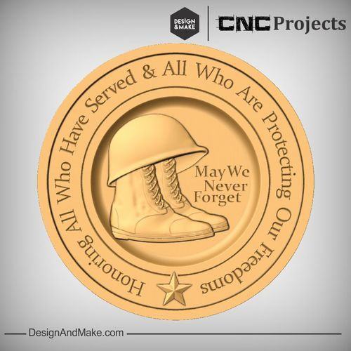 Hack of the Week No.77 — Design and Make CNC Projects - November 11th - Remembrance Day - Veterans Day