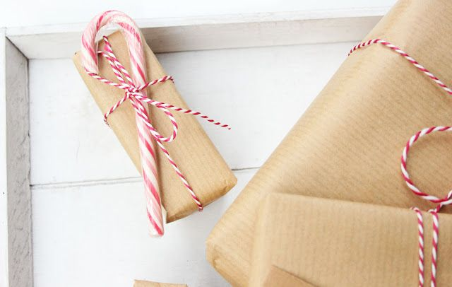 DIY | Kerstcadeautjes inpakken