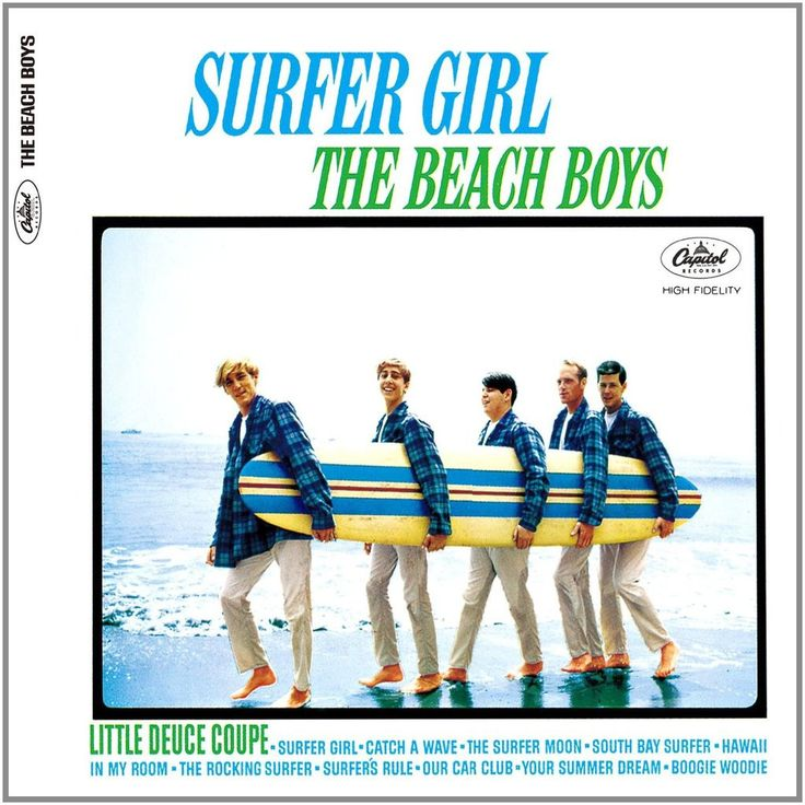 The Beach Boys Surfer Girl Vinyl LP With a career spanning 55 years, Rock and Roll Hall of Fame inductees The Beach Boys have sold more than 100 million records, charted over 80 songs worldwide, had 3                                                                                                                                                                                 More